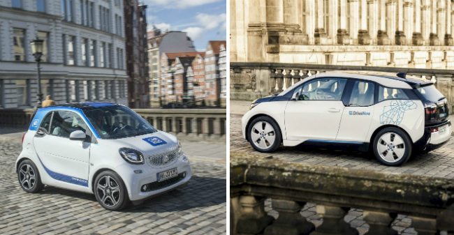 Carsharing DriveNow car2go